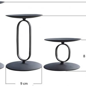"""Metal candlestick """"Oval"""""""
