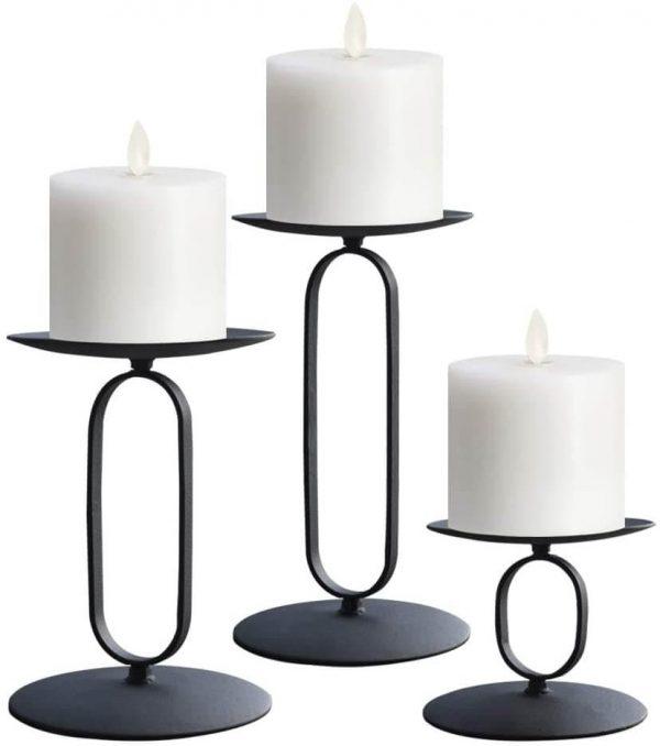 """Metalinė žvakidė """"Oval"""""""