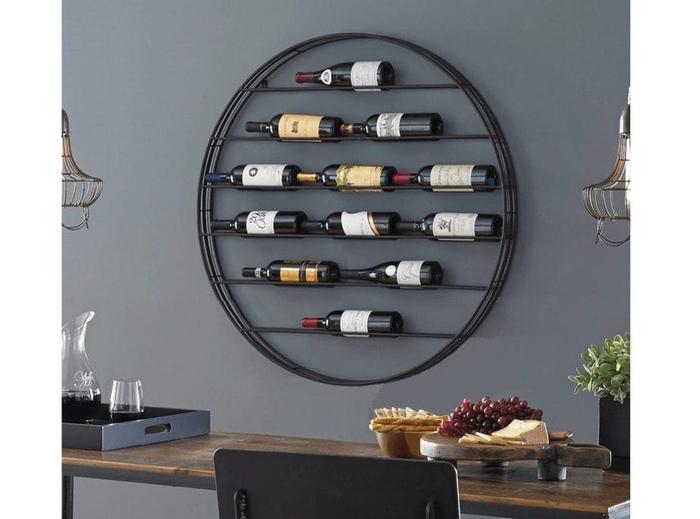 Vyno butelių laikiklis